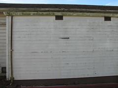 building, wall, garage door, property, facade,