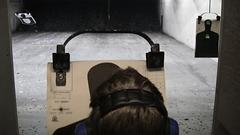 Eric at the firing range