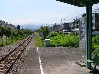 Hengshan Station, over the platform (DSCN0371)