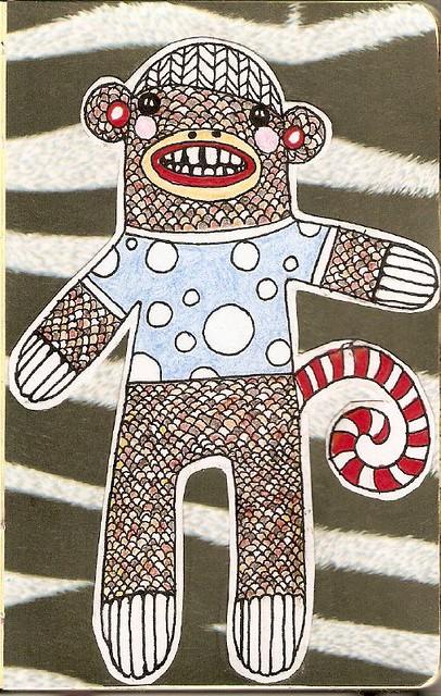 sock monkey emmas book moly-x-48