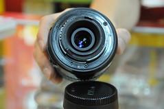cameras & optics, digital camera, yellow, lens, fisheye lens, close-up, camera lens,