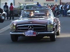 Tour de Bretagne 2006, Voiture Ancienne Mercedes cabriolé