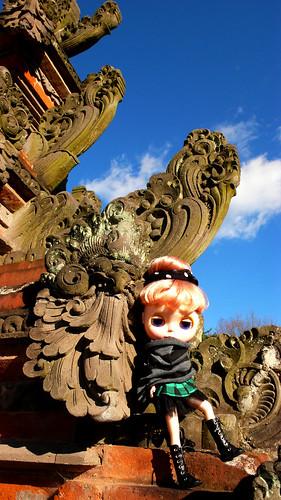 Blythe travel around the world : Bali