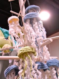 Maker Faire NC: Crocheted Jellyfish!
