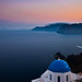 Dust over Santorini by no.zomi