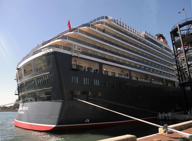 Queen Victoria cruise liner visit to Sydney