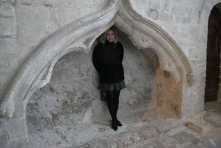 Playing in Winchester Cathedral