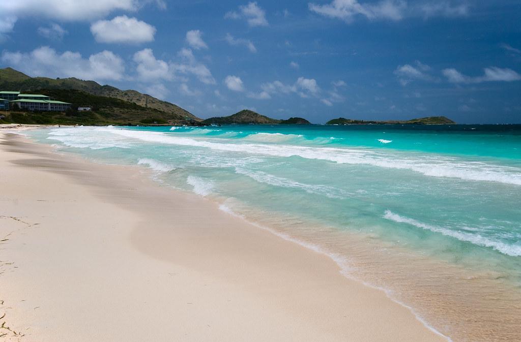 пляж Orient сен мартен