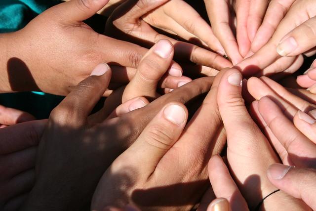 Spiral of Hands from Flickr via Wylio