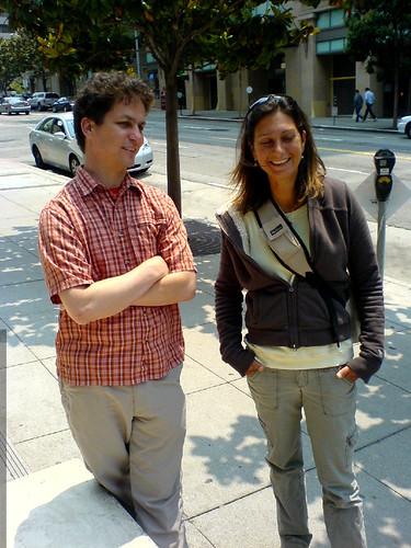 daniel and nadia on 2nd street in san francisco   DSC01142