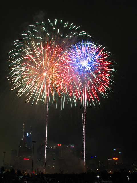 Nashville Fireworks on the 4th #18