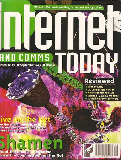 Internet Today Issue 11 - Sep 1995 | Sean Clark | Flickr