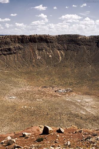 arizona crater meteor