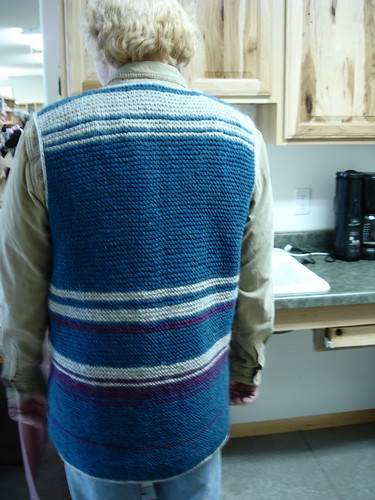 Knitting With Two Colors Meg Swansen : Schoolhouse press meg swansen bsj vest garter stitch br