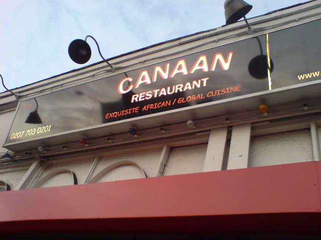Canaan Restaurant Menu Cerritos