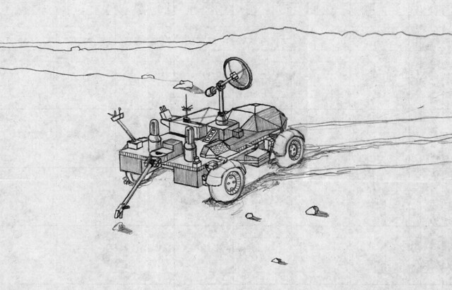 draw mars rover curiosity - photo #16