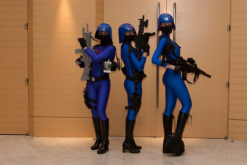 Cobra soldier costumes at Dragoncon 2008