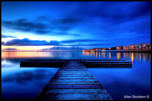 West Kirby in the Blue Hour