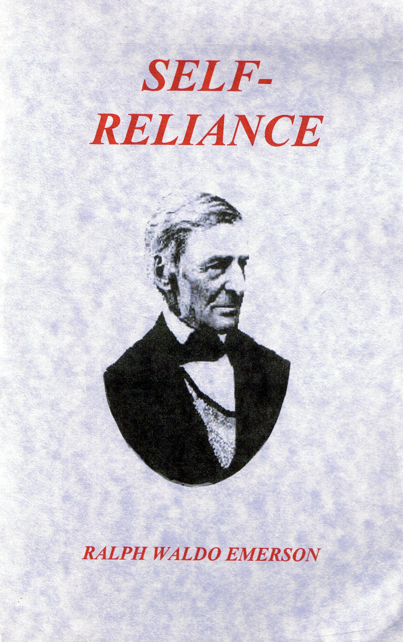Emerson Self Reliance Quotes Quotesgram