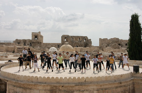 Dancing to Scott Joplin, Citadel, Aleppo