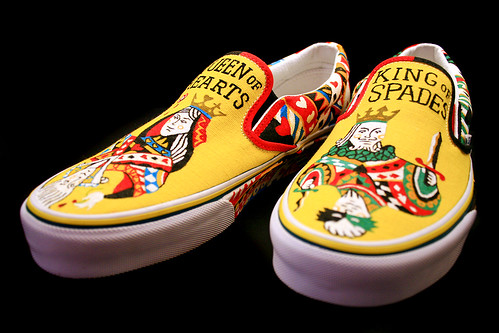 VANS CUSTOM SHOES '08