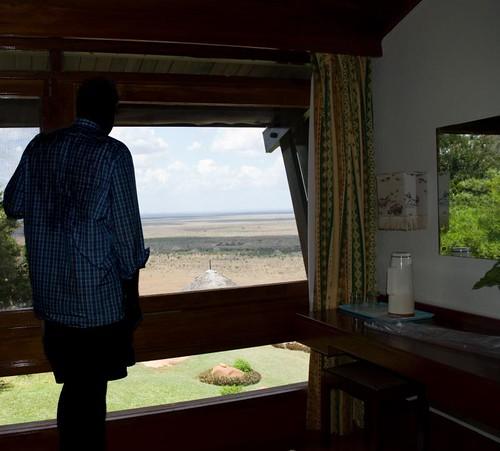 portrait game water self nikon kenya reserve safari tsavo d80