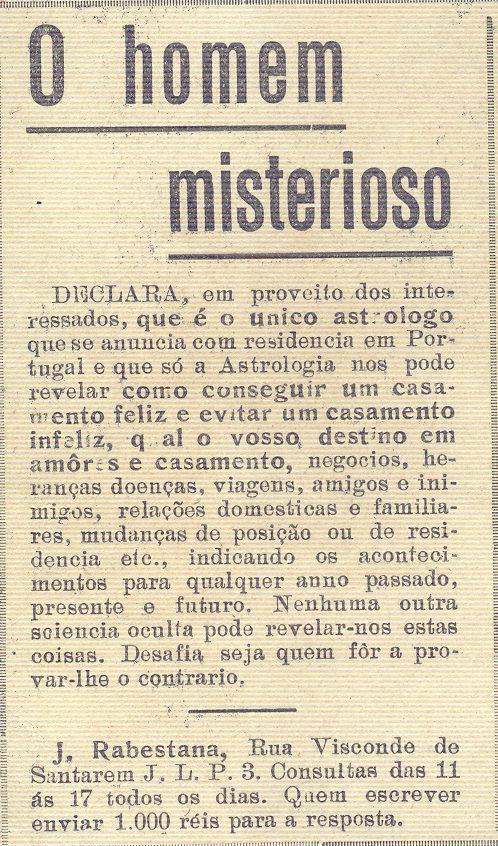 Ilustração Portugueza, 1920s - 1a