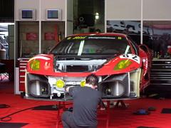 ferrari 458(0.0), ferrari f40(0.0), race track(0.0), race car(1.0), automobile(1.0), vehicle(1.0), performance car(1.0), automotive design(1.0), ferrari f430 challenge(1.0), ferrari f430(1.0), land vehicle(1.0), luxury vehicle(1.0), supercar(1.0), sports car(1.0),