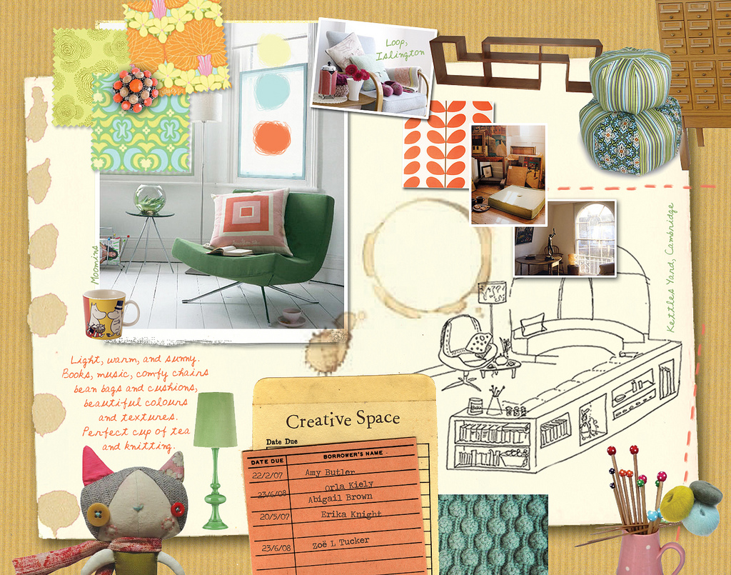 It girl vibe room decor mood boards for Room design mood board