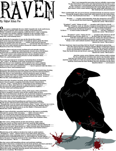 Poe's Raven by bryanwright5@gmail.com