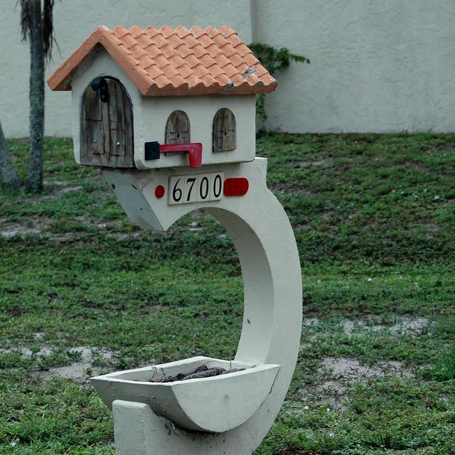 Mailbox Naples Tile Roof