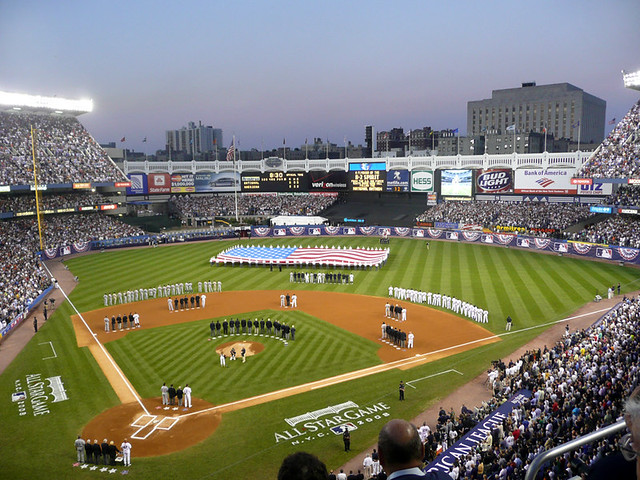 All Star Games At Yankee Stadium