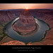 Horseshoe Bend Sunset - 1st Place in Popular Photography Magazine!