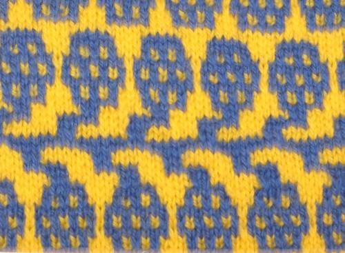 "Mosaic Knitting : ""mosaic knitting the walker treasury project"