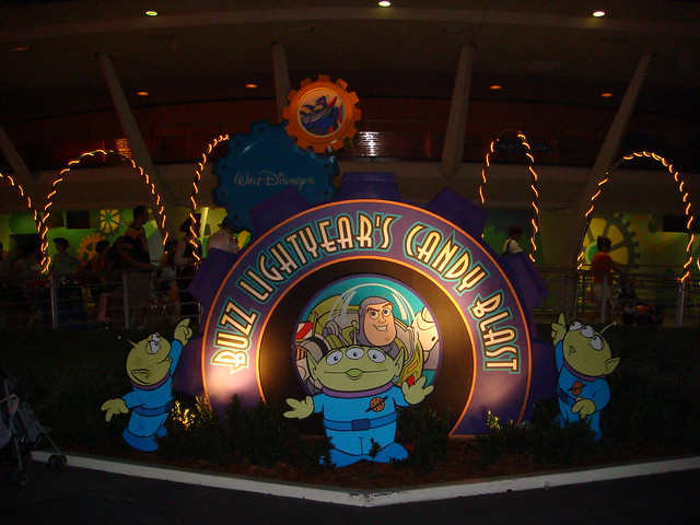 Buzz Lightyear's Candy Blast
