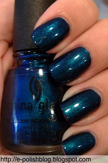 China Glaze - Rodeo Fanatic Swatch