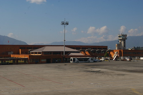 International Terminal at Kathmandu Airport (KTM), Nepal
