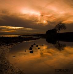 Sunset over Bygdøy