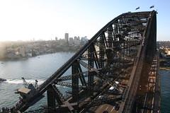 transport, landmark, truss bridge, cityscape, waterway, bridge,
