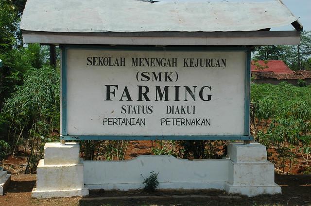 SMK Farming, Pati, Jawa Tengah