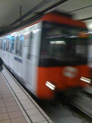 scene from daily commute - metro