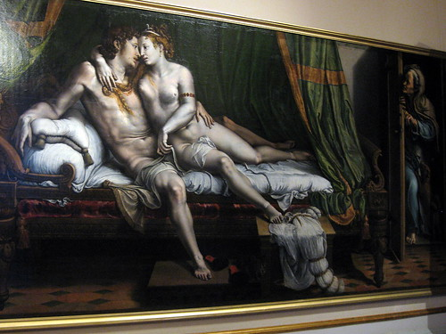 Alexandre and Arianne, Two Lovers or Due Amanti, by Giulio Romano