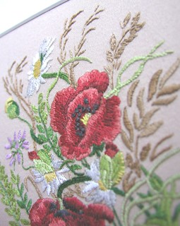 Poppy Embroidery