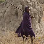 Masai Man - Lake Manyara, Tanzania