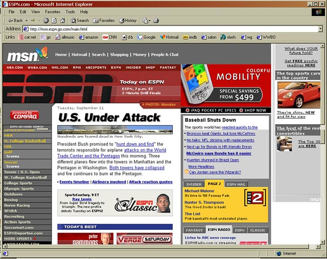 ESPN, 2:21pm CT | Screenshot of ESPN taken at 2:21pm CT on S… | Flickr
