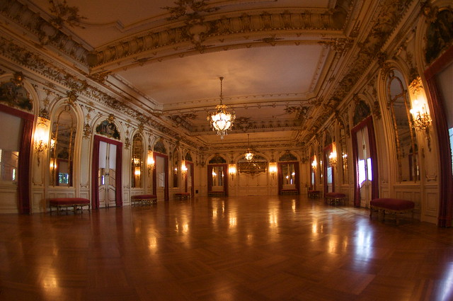Flagler Mansion Ballroom Appointed In The Style Of Quot L