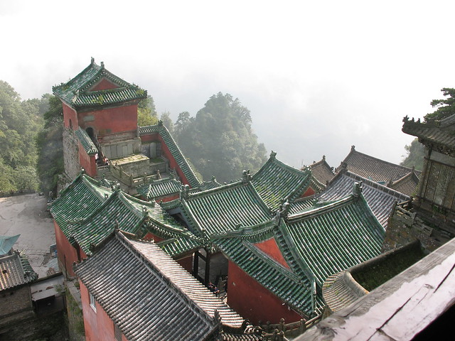 The main Taoist monastery @ Wudang Shan