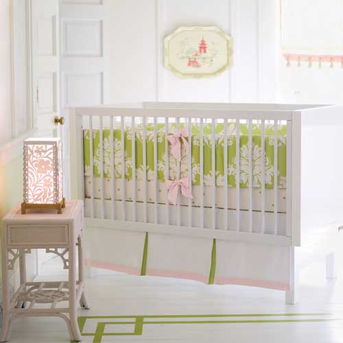 Baby girl nursery ideas a gallery on flickr for Serena and lily baby girl bedding