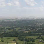 002-20080622NX_Craig Llysfaen-Panorama B of Cardiff from Summit - Glamorgan - South Wales