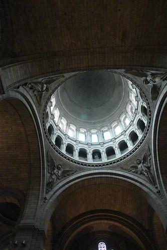 Vísta de la cúpula principal desde el Interior Sacré Coeur, el balcón más bello de París - 2668500623 a286094c8a - Sacré Coeur, el balcón más bello de París